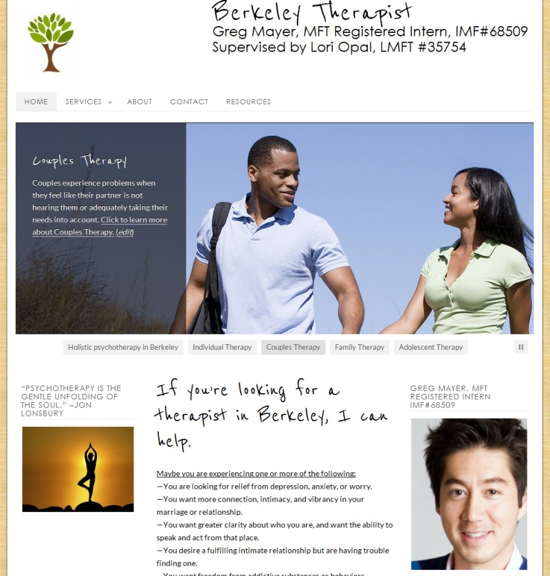 Berkeley Therapist - Enhanc3